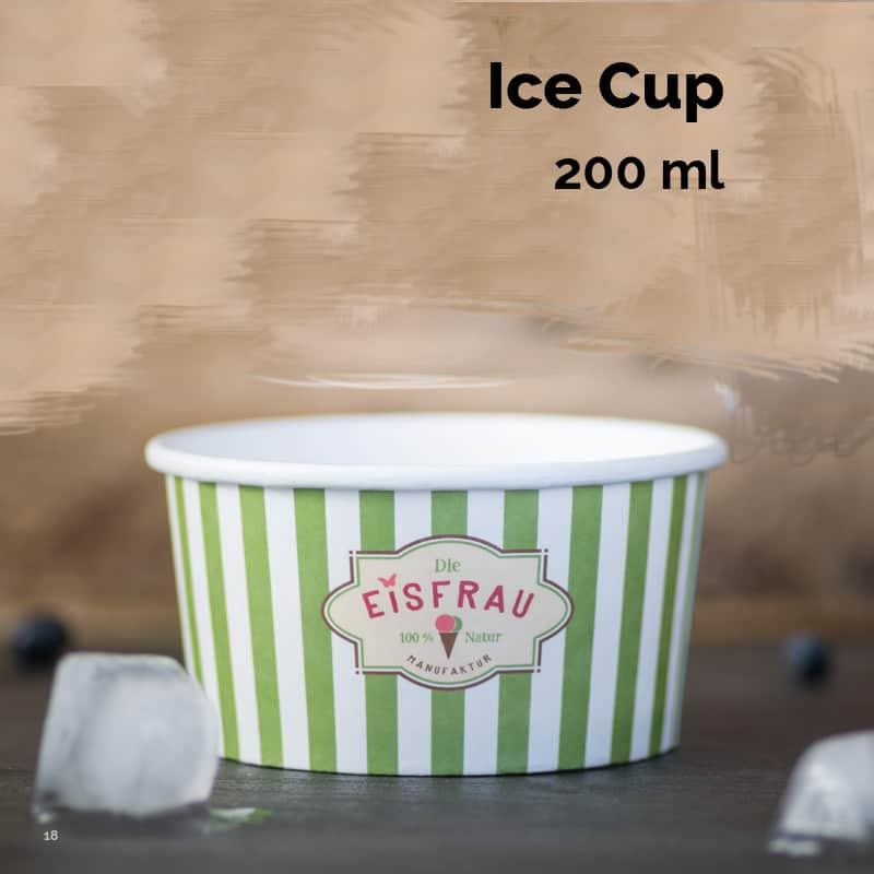 Bæger til is. 200 ml