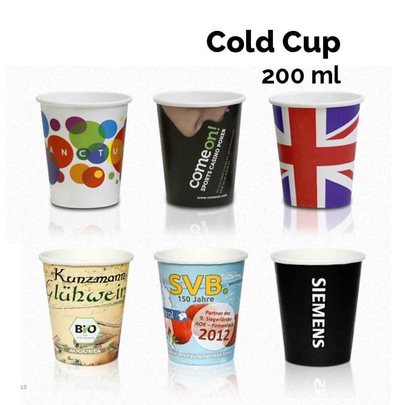 Papkrus til kolde drikke 200 ml