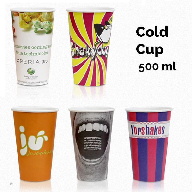 Papkrus til kolde drikke 500 ml