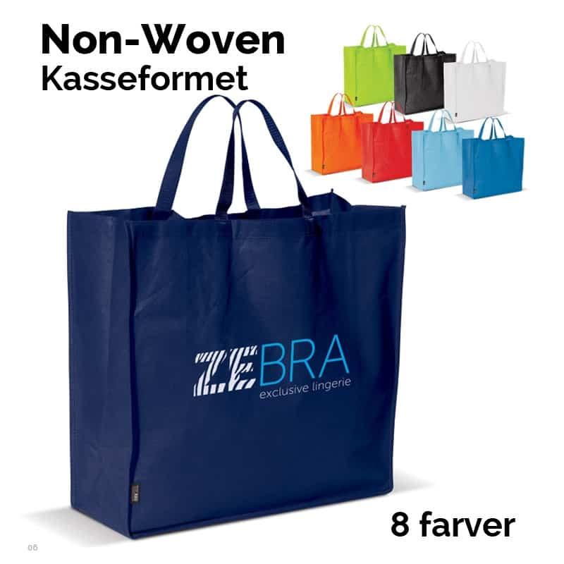 Stor Non-Woven shoppingbag. Kasseformet