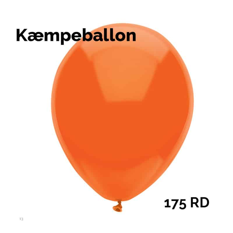 Kæmpeballon 175 RDTS
