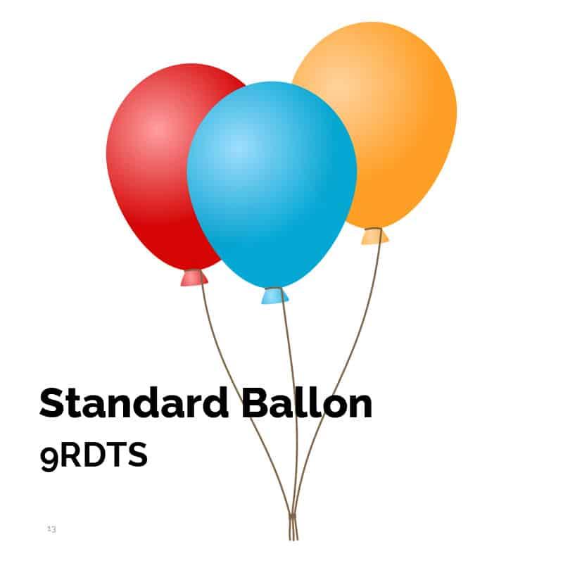 Standardballon 9RDTS