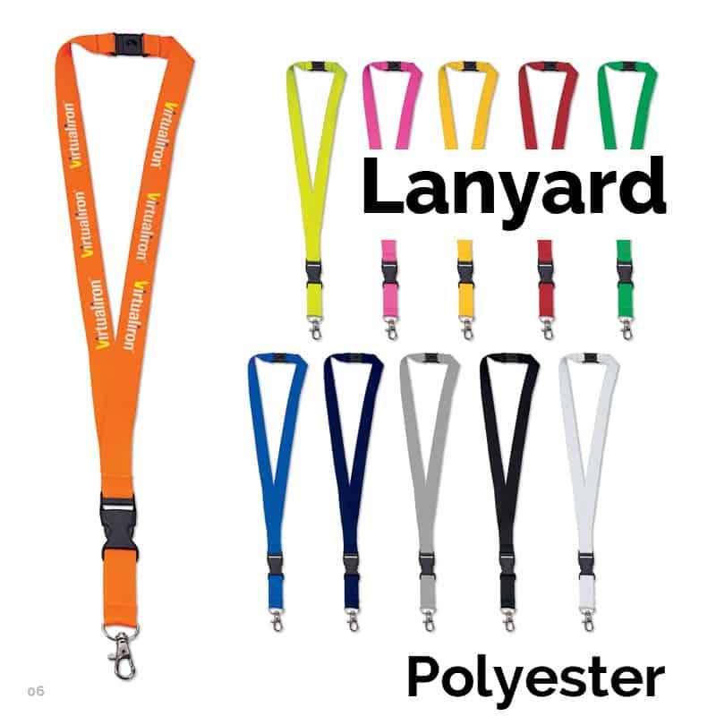 Lanyard i polyester