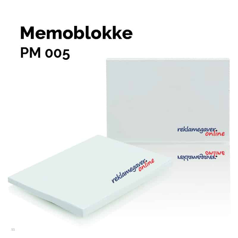 Memoblok 125 x 72 mm PM005