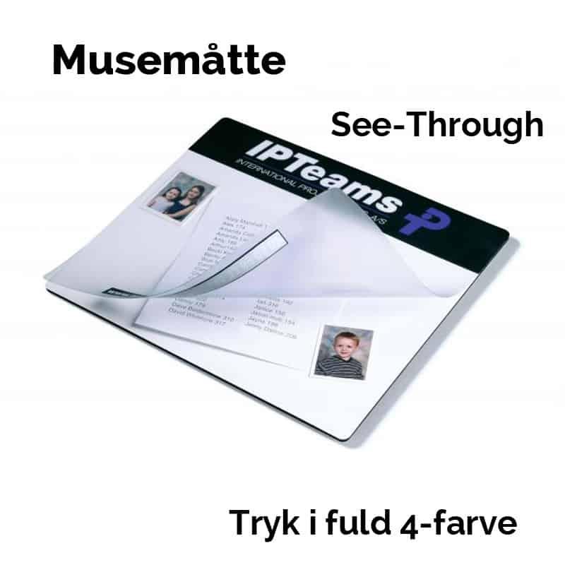 Headeren er til dit tryk. Under plastikoverfladen kan kunden selv lægge billeder ind.
