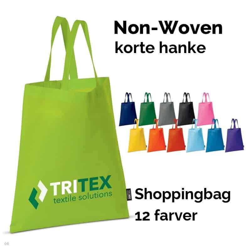 Non-Vowen shoppingbag / mulepose med korte hanke