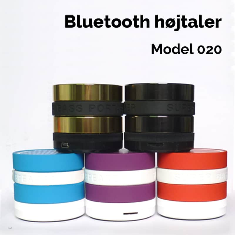 Bluetooth højtaler model 020