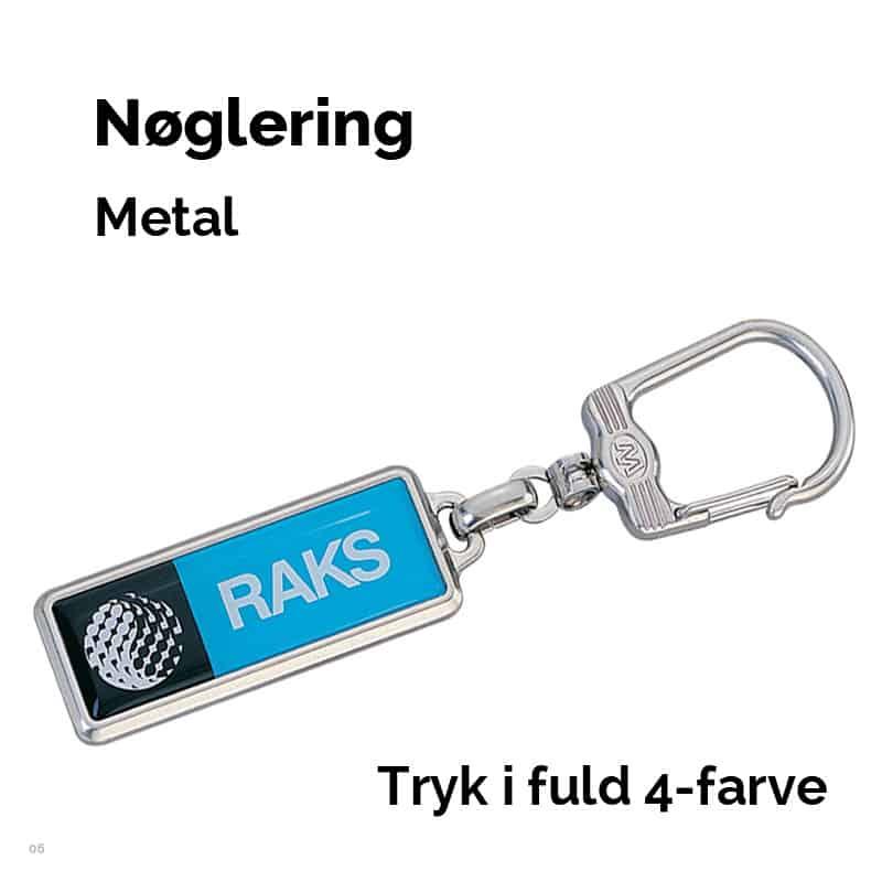 Nøglering i metal