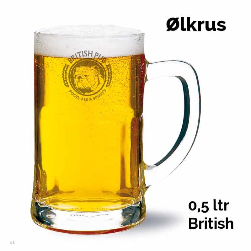 Ølkrus British