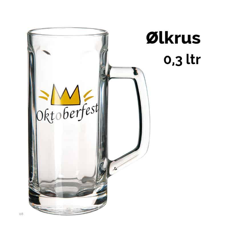 Ølkrus 0,3 ltr