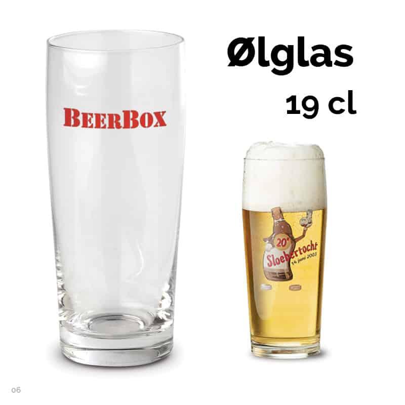 Ølglas 19 cl