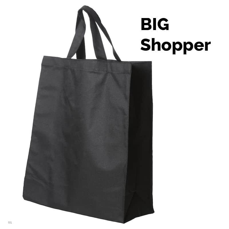 Shoppingbaggen til det store indkøb