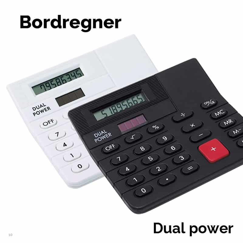 Dual Power bordregner