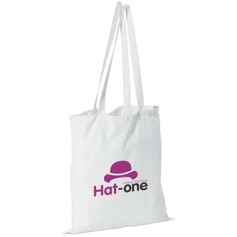 Skulderpose med lang hank - Hvid