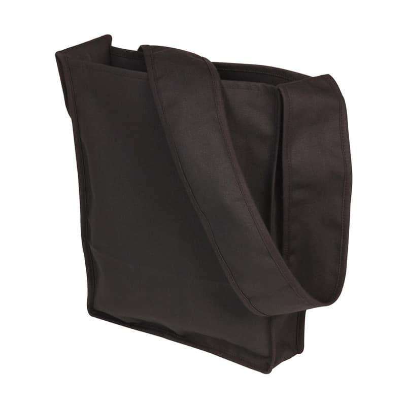 Skulderpose med brede stropper - Natur