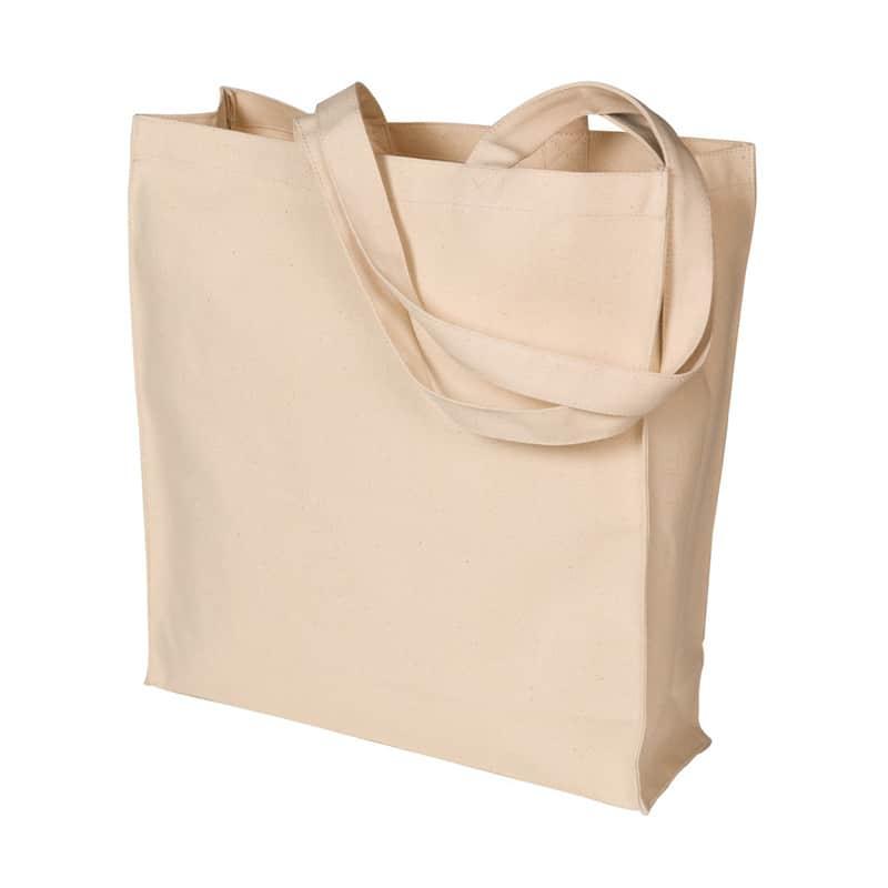 07-41-311    Skulderpose med syet bund og sidefals