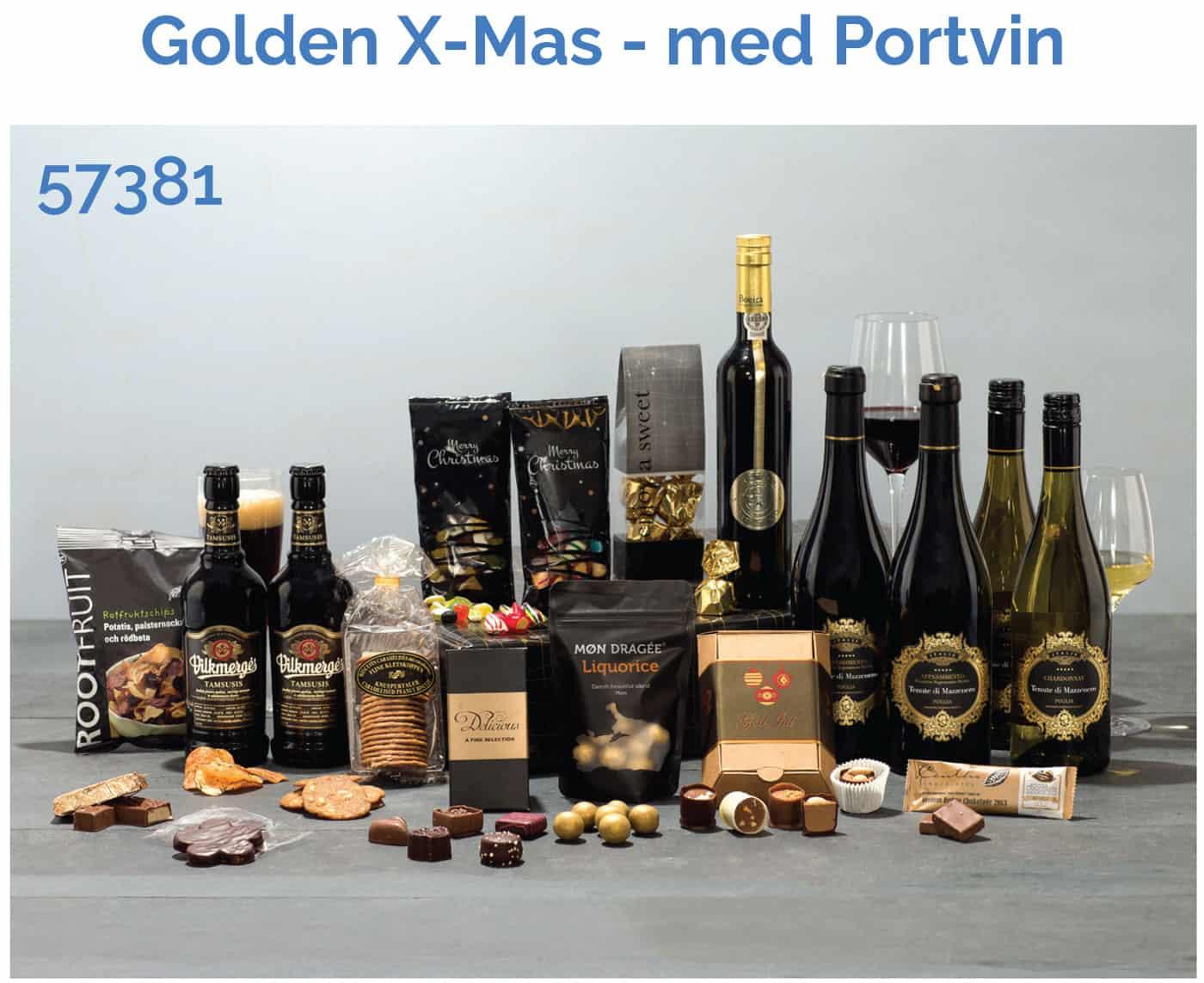 Golden christmas - Portvin