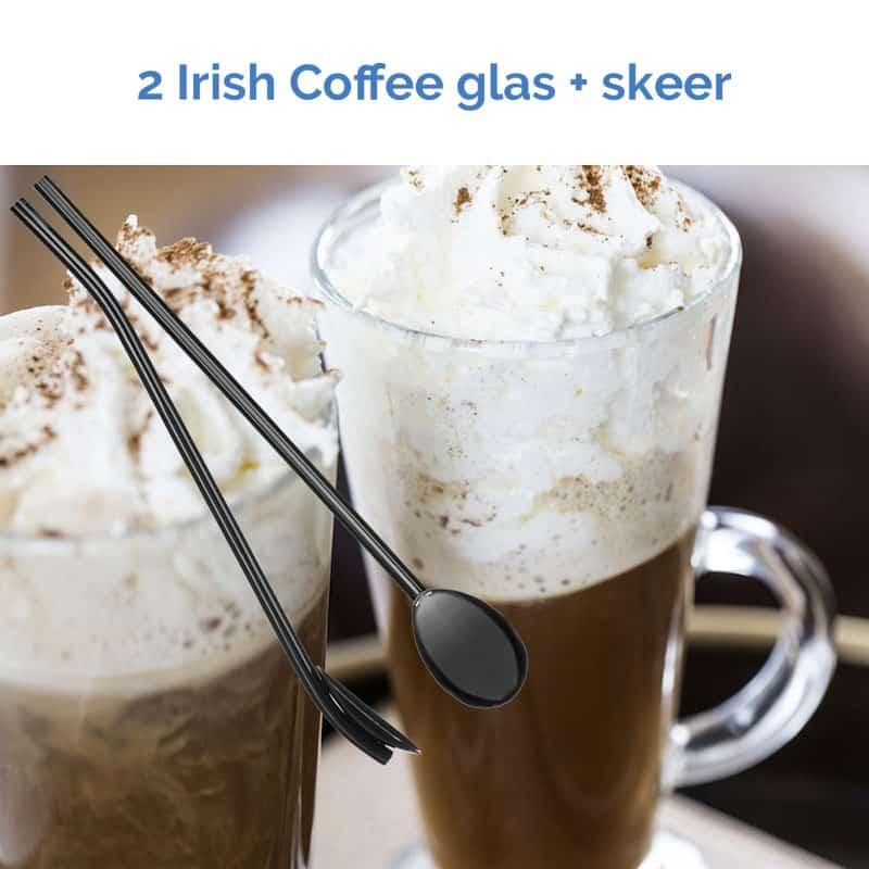 2 stk Irish Coffee glas