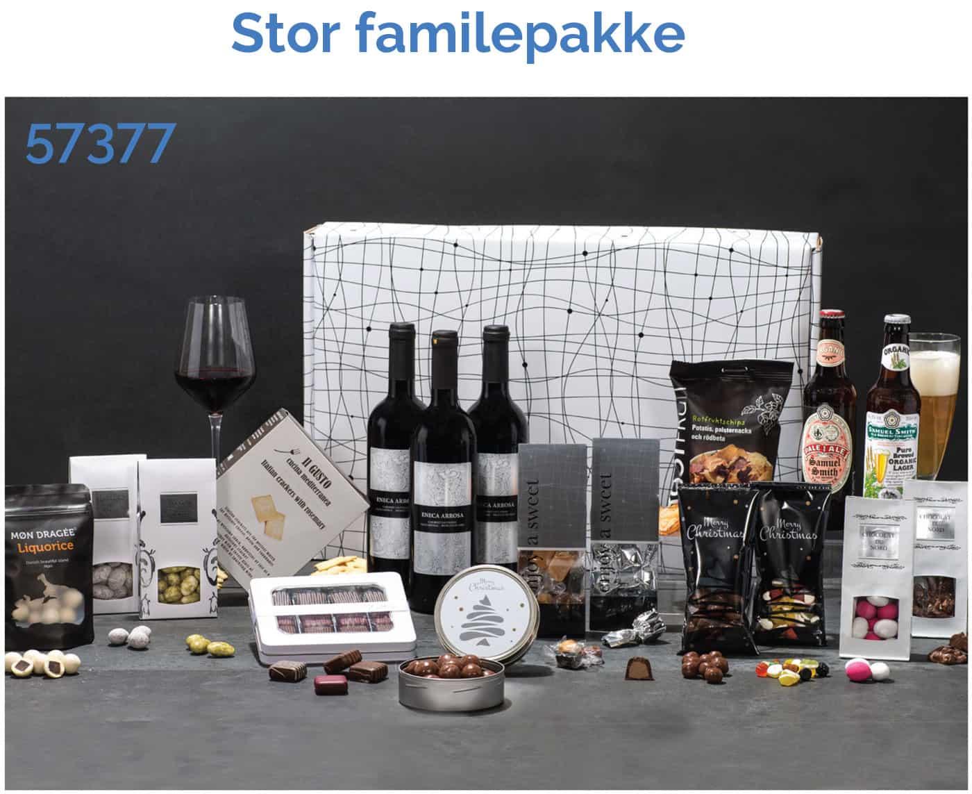 Stor familiepakke - 57377